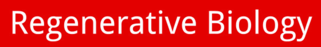Regenerative Biology Logo text